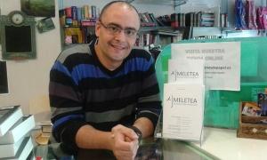 Rayco Cruz, librero y escritor
